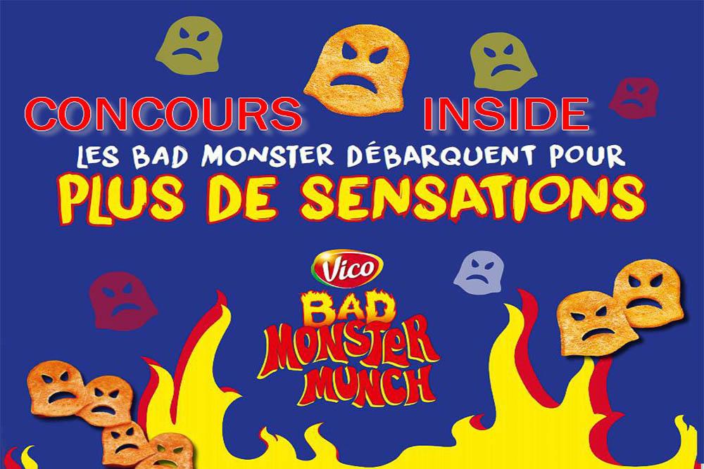 Concours Bad Monster Munch … et les gagnants sont …
