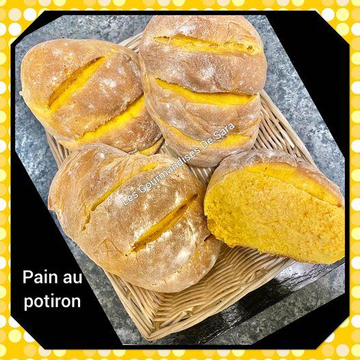pain au potiron
