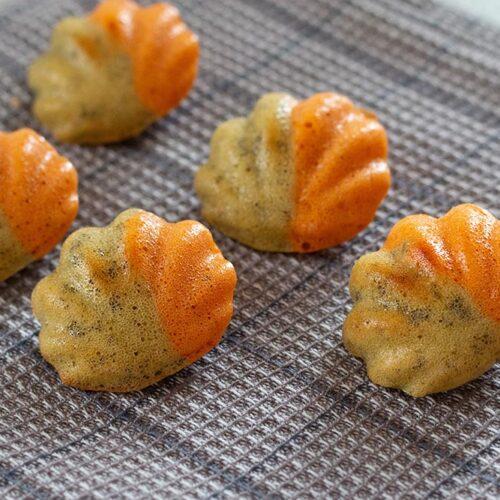 Bouchées au pesto tomate moule flexipan coquilles
