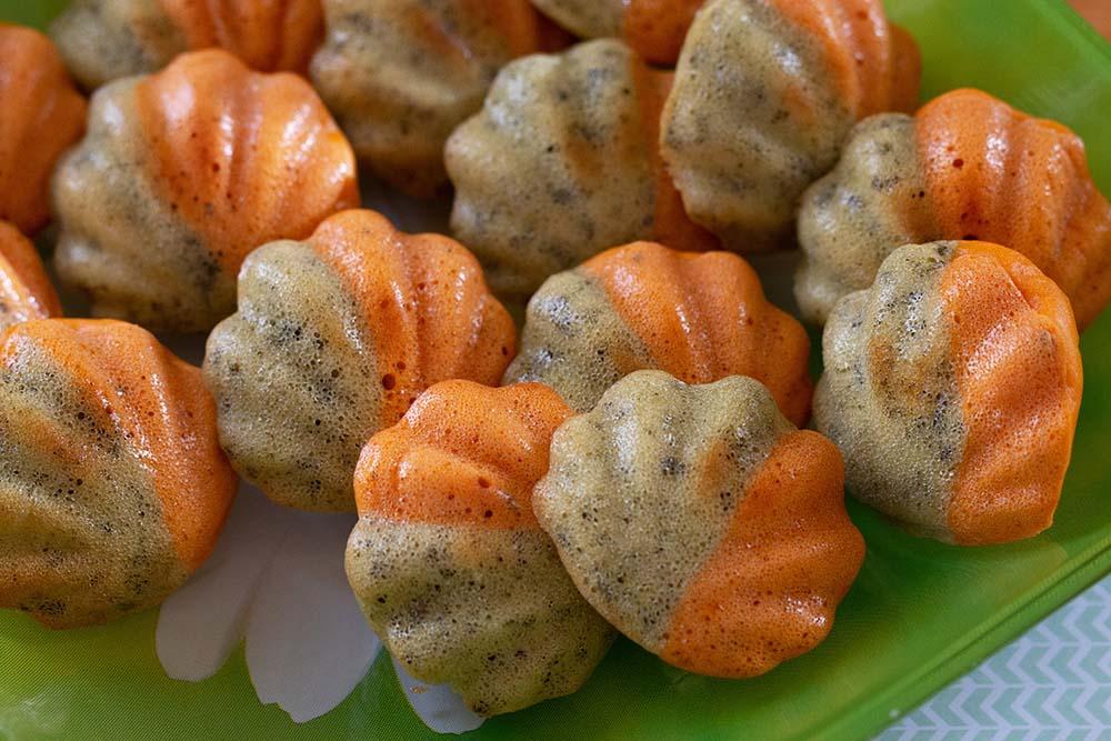 Bouchées au pesto et tomate moule flexipan coquilles Bouchées au pesto tomate Bouchées aux deux pestos