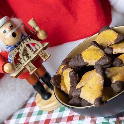Bredeles Amandes et Chocolat
