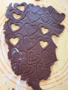 Cœurs au chocolat et à la cannelle (Bredeles 2020) 4