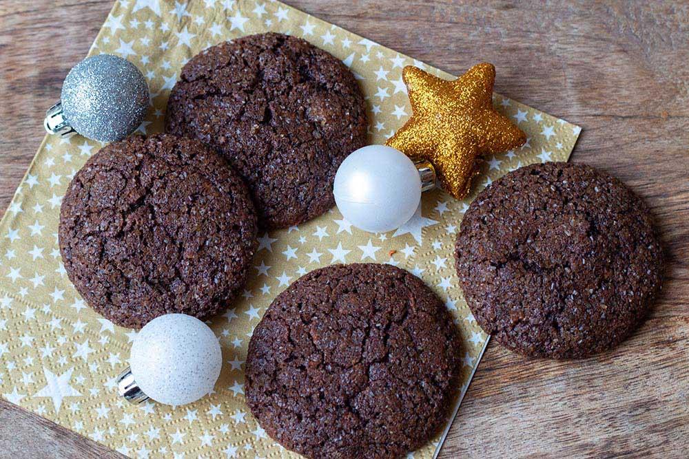 Cookies Chocolat Cannelle de Martha Stewart