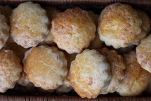 Mini pogácsa au fromage