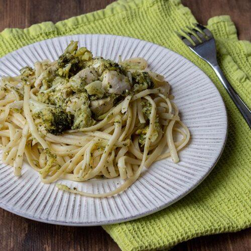 Spaghettis au poulet et au brocolis (au Cookeo)