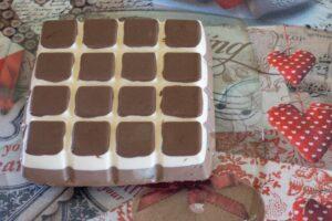 Bavarois Poire Chocolat moule tablette