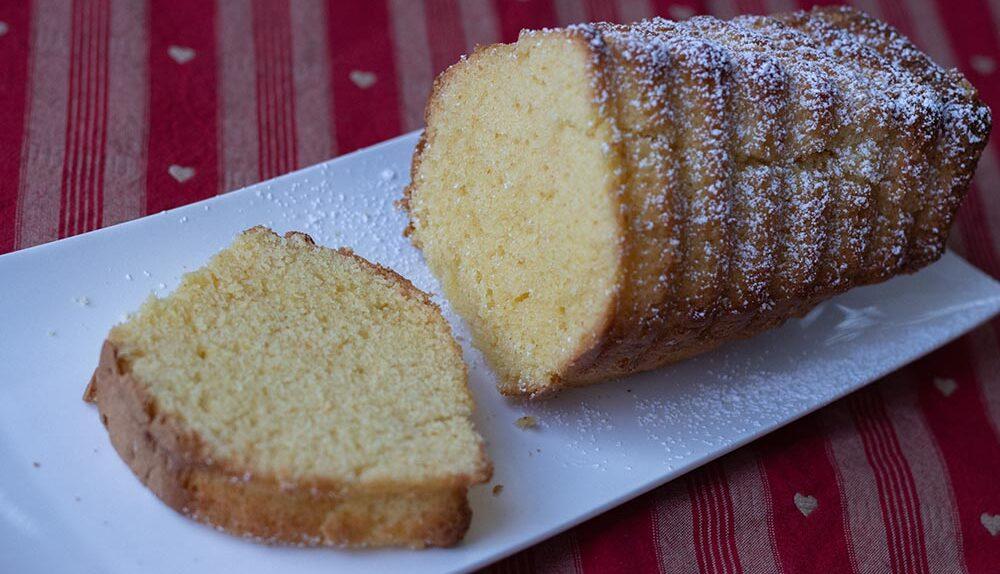 Cake mousseline à l'orange