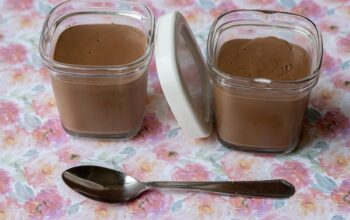 Danette au chocolat (au Thermomix) crème dessert au chocolat