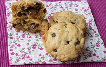 Fonkies (cookies fondant au coeur chocolat)