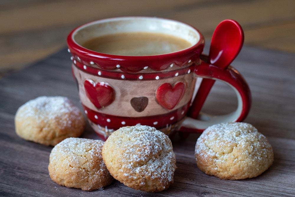 Hélènettes (biscuits aux jaunes d'oeufs)