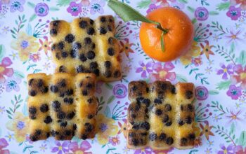 Moelleux clémentines pépites de chocolat petites tablettes Flexipan Demarle