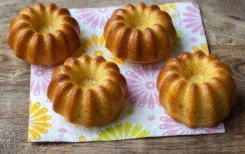 Muffins à l'orange et au yaourt volcan Demarle Flexipan