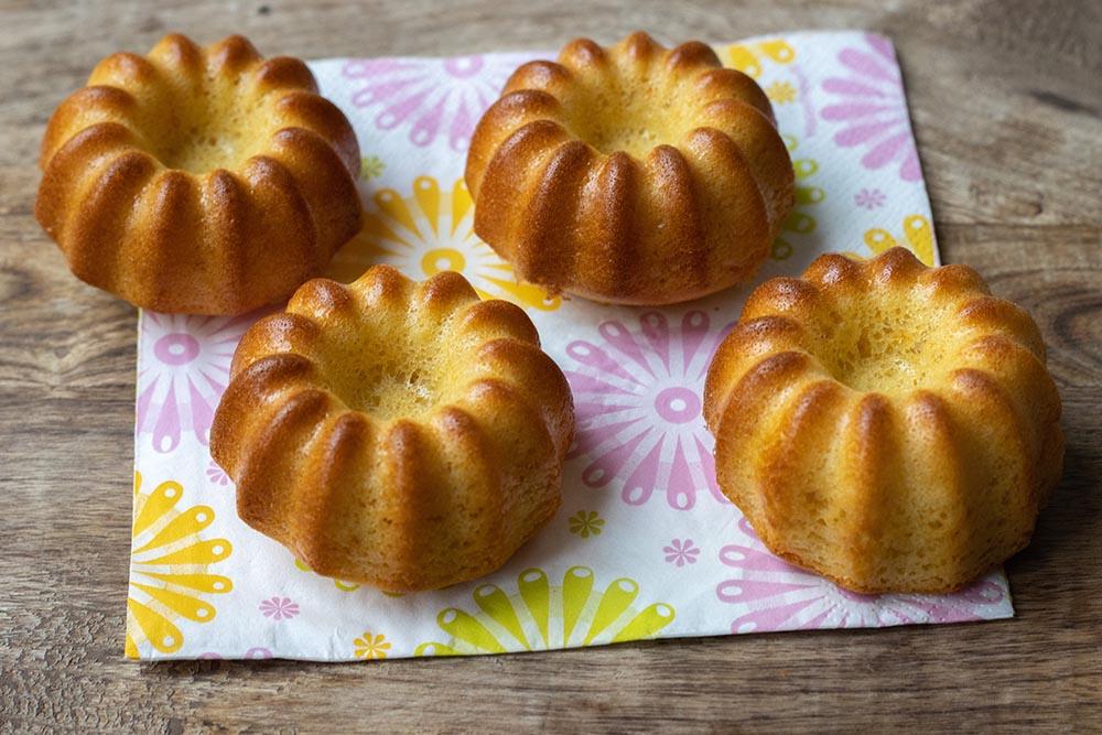 Muffins à l'orange et au yaourt
