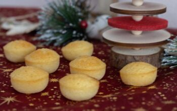 Petits financiers minute Petits Fours Flexipan Demarle