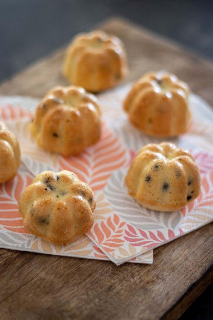 Petits gâteaux aux amandes et aux pépites de chocolat 1