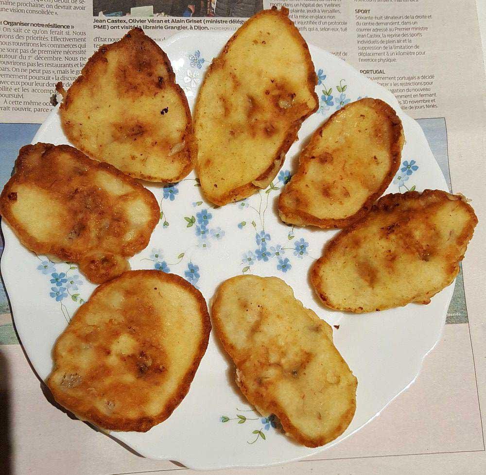 oladushki pancakes aux pommes bananes