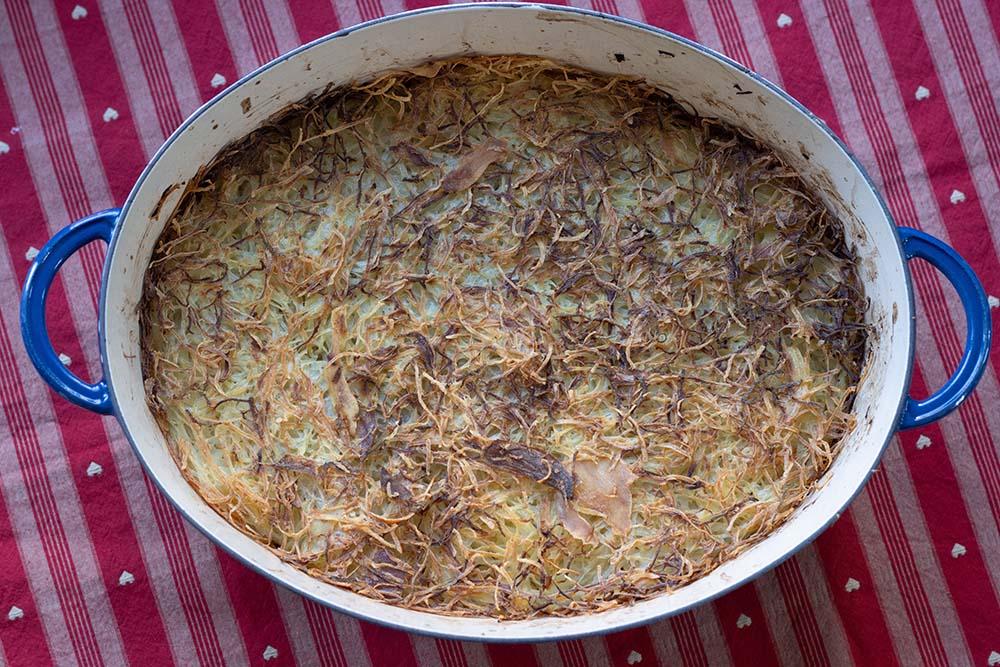 Choucroute en croûte de pommes de terre 1