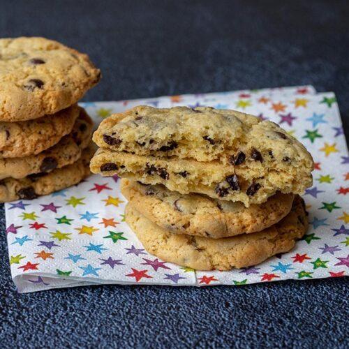 Cookies américains moelleux (recette facile)