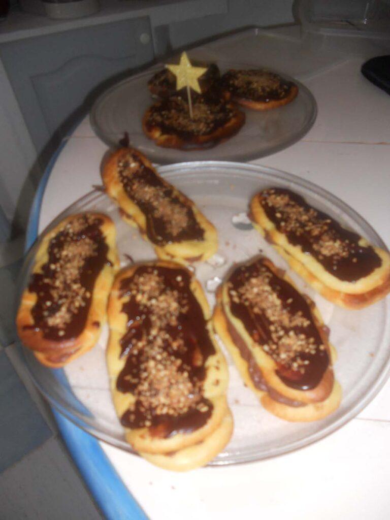 crêpes avec Danette au chocolat