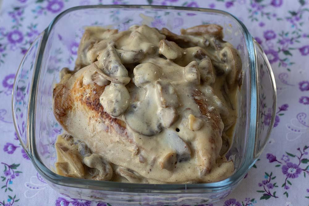Filet de poulet à la crème et champignons (au Cookeo ou sans)