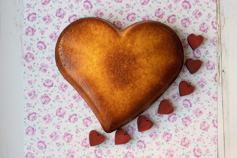 Gâteau Saint Valentin (recette Tupperware)