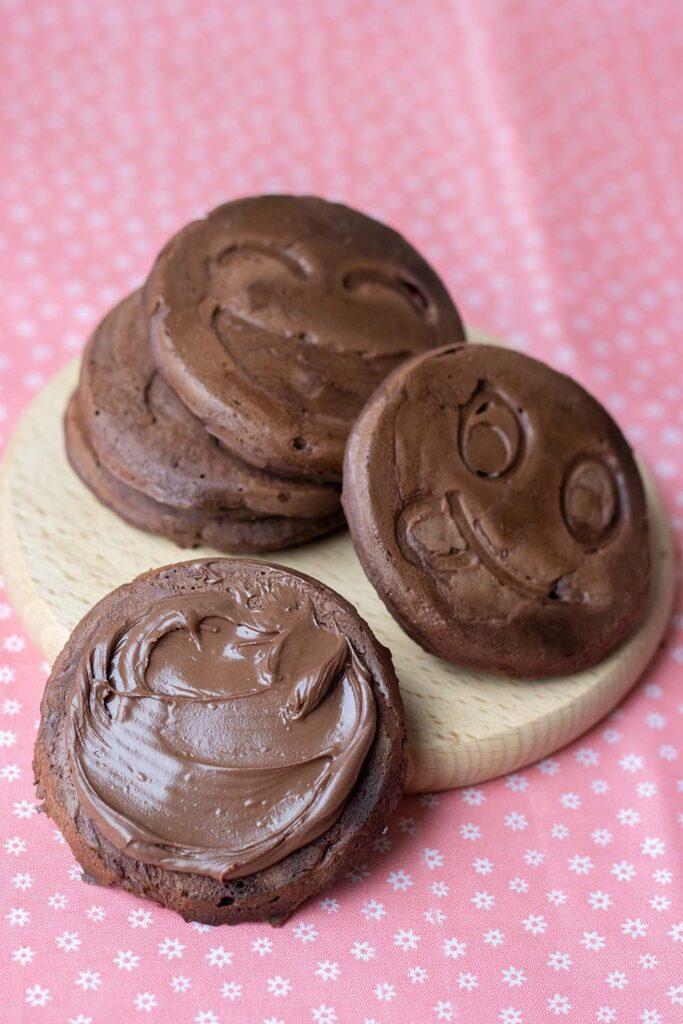 Pancakes au chocolat 1