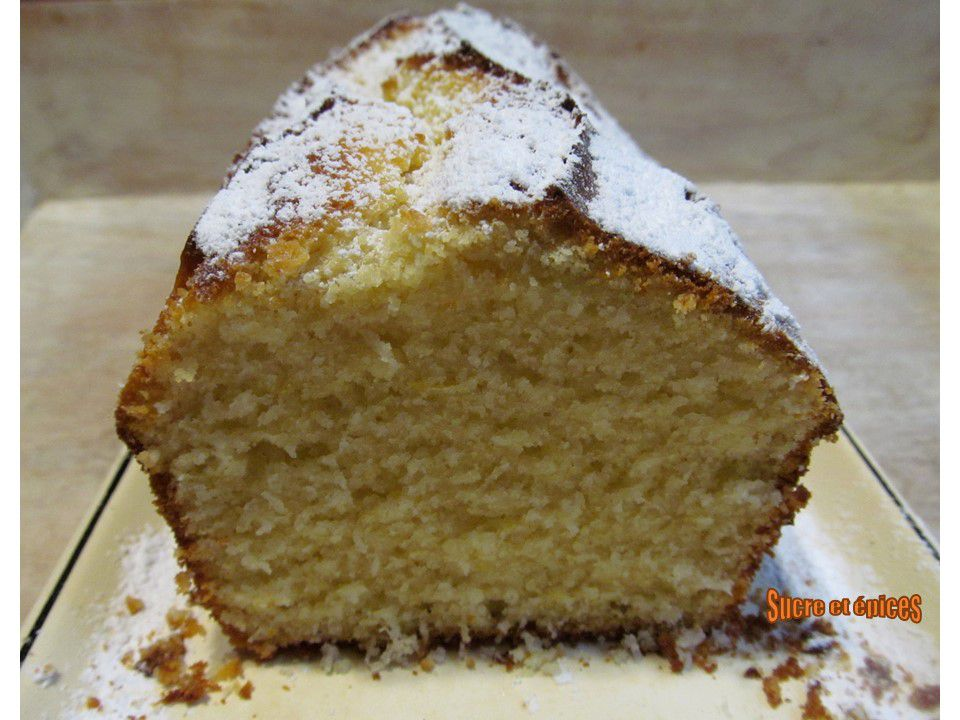 cake à la semoule et au citron