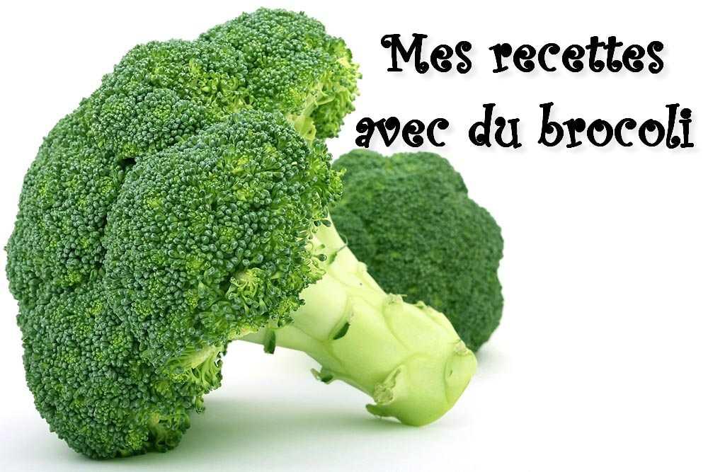 Quoi faire avec du brocoli ? (index de recettes)