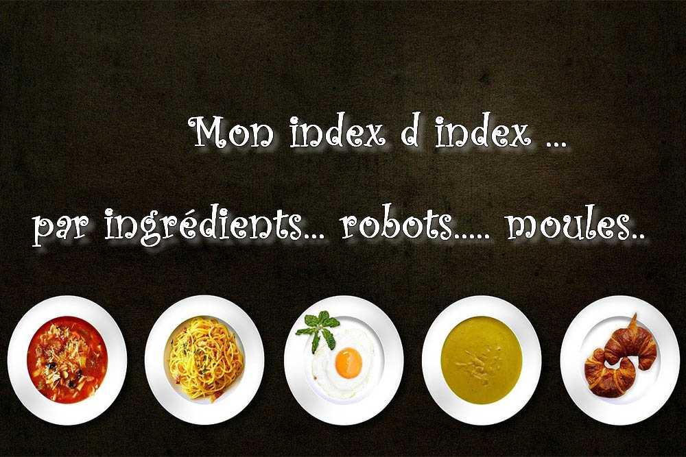 Mon index d index ….