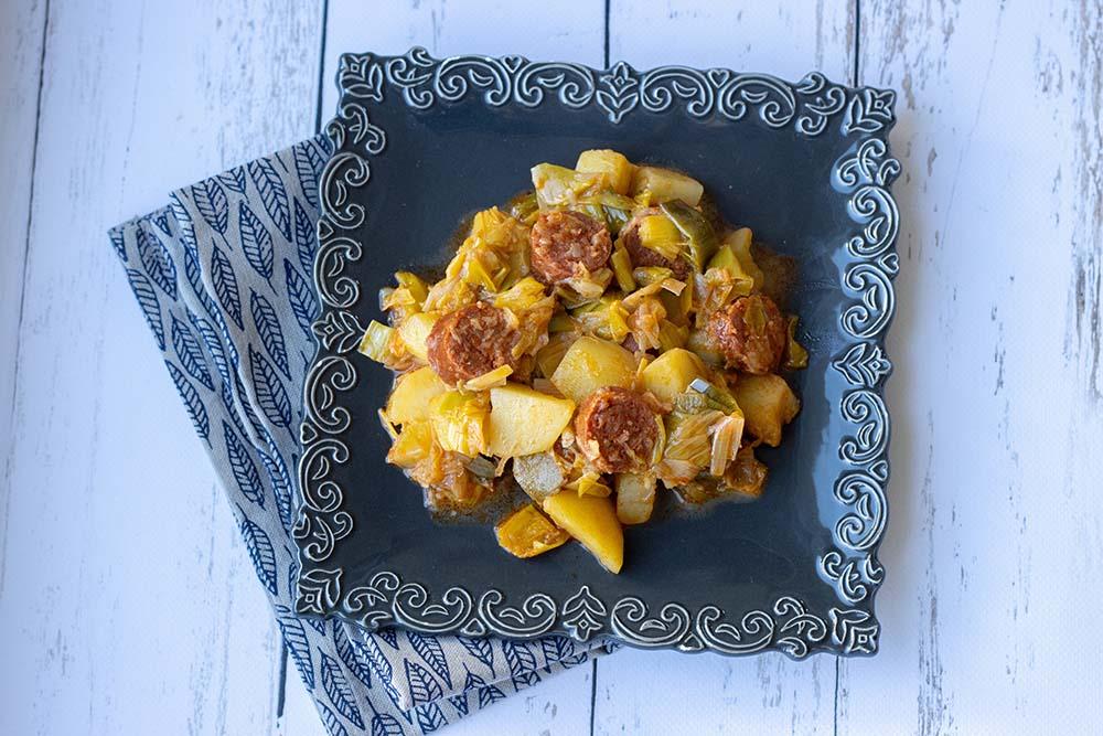 Chorizo aux pommes de terre et aux poireaux (au Cookeo ou sans) 1