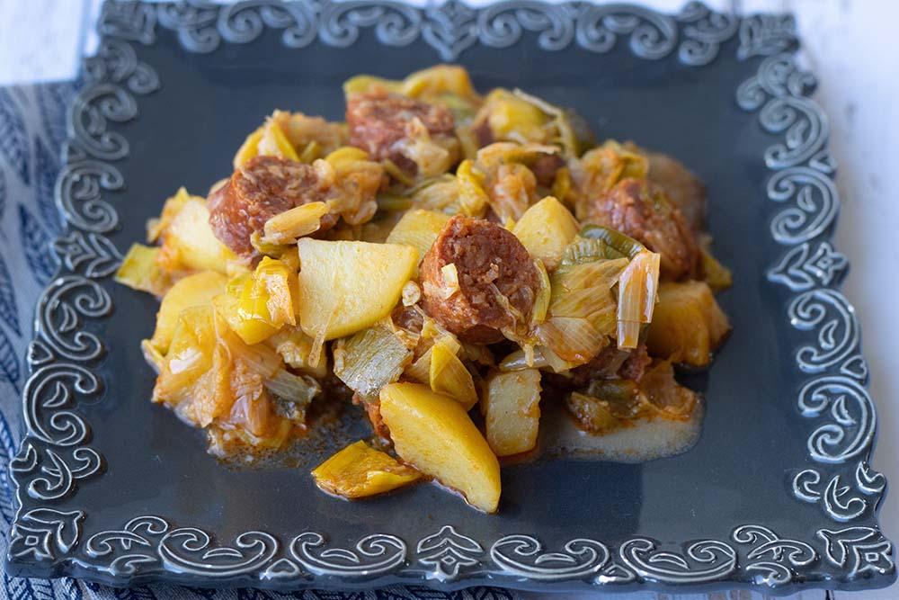 Chorizo aux pommes de terre et aux poireaux (au Cookeo ou sans) 2