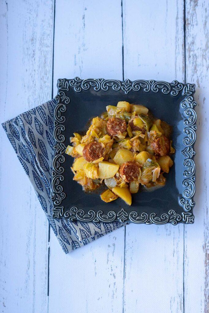 Chorizo aux pommes de terre et aux poireaux (au Cookeo ou sans) 3