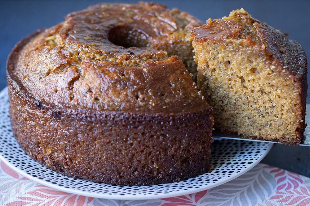 Gâteau moelleux à l'orange et aux graines de chia 2