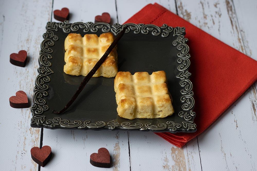 Mini-flans parisiens vanille, sans pâte (recette de Christophe Michalak)