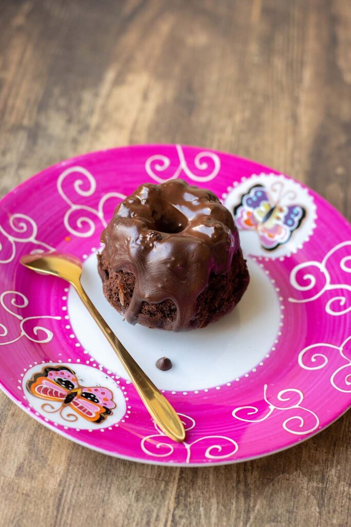 Mini-kouglofs chocolat orange kouglof Demarle Flexipan 3