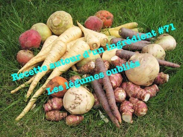 les légumes oubliés les légumes anciens recette autour d'un ingrédient