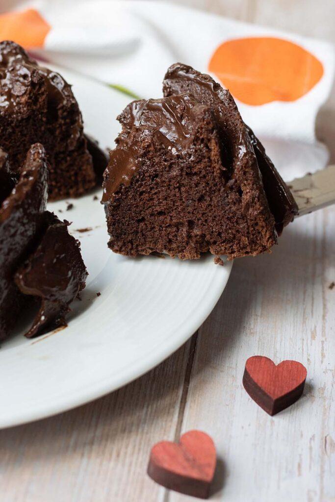 Angel cake au chocolat bundt cake 3