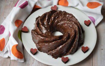 Angel cake au chocolat bundt cake