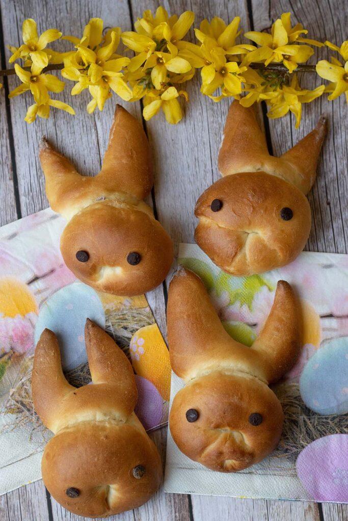Brioches lapins Pâques 8