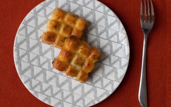 Cake aux poireaux et au chorizo petites tablettes Demarle