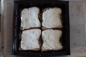 Croque tablette au saumon fumé moule tablette Demarle 2