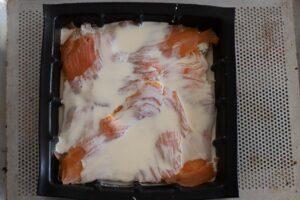 Croque tablette au saumon fumé moule tablette Demarle 3