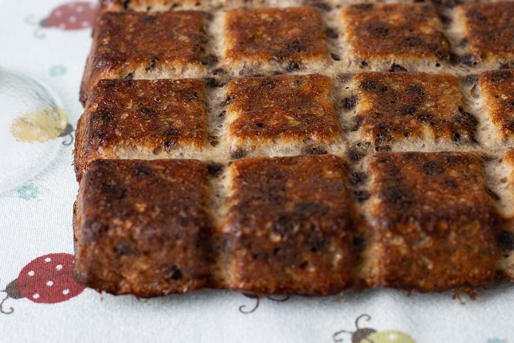 Gâteau à la banane et au chocolat moule tablette Demarle 1