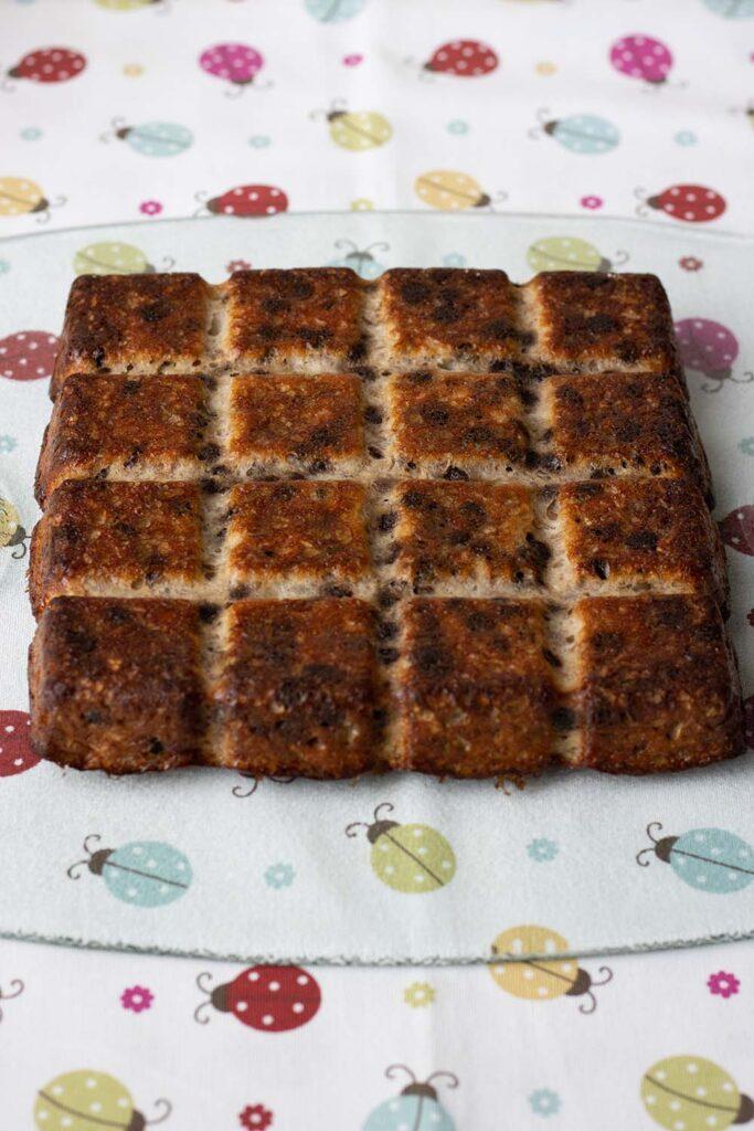 Gâteau à la banane et au chocolat moule tablette Demarle 2