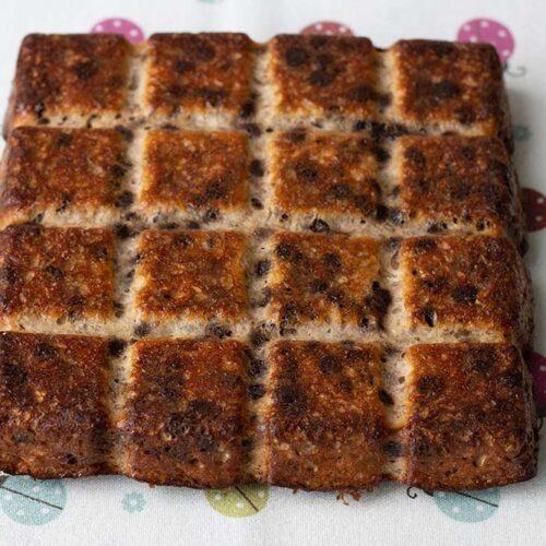 Gâteau à la banane et au chocolat moule tablette Demarle