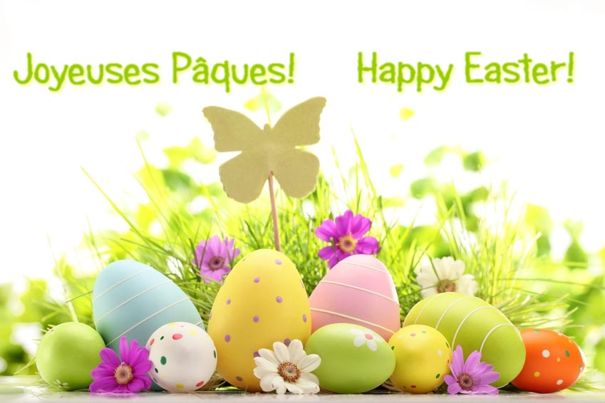 Joyeuses Paques Happy Easter