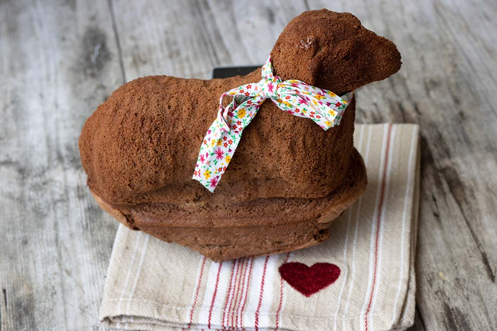 Lammele au chocolat noir (Agneau pascal au chocolat)