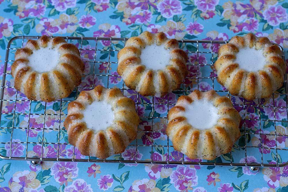 Mini Bundt Cakes Citron Pavot