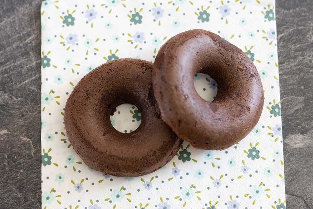 Moelleux chocolat noir compote
