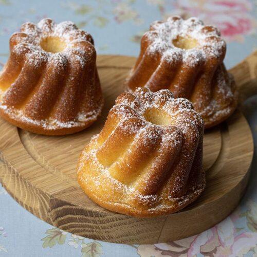 Mouskoutchou (gâteau algérien) kouglofs Demarle